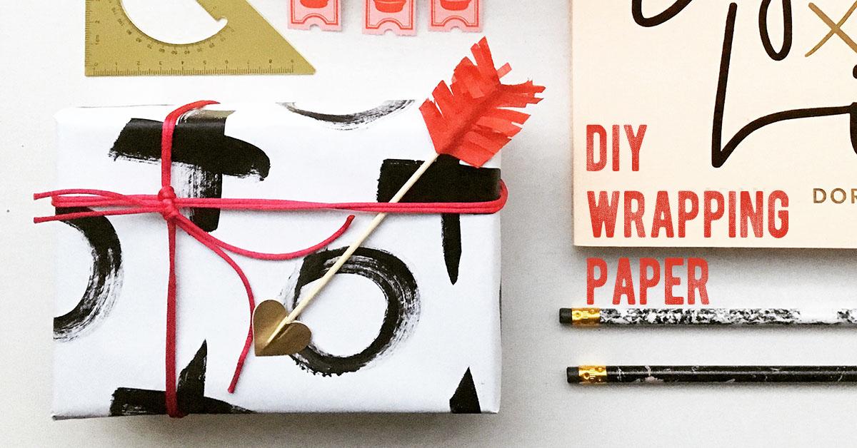 周りと差がつく!DIYラッピングペーパーの作り方<br/>|by Glitter Party Styling