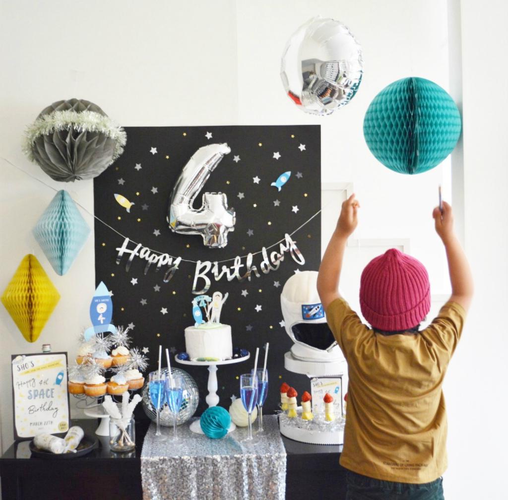 宇宙旅行パーティー