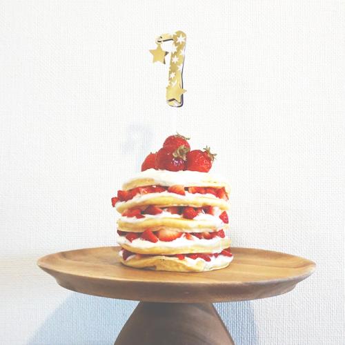 1歳の誕生日にもぴったり!簡単かわいいネイキッドケーキの作り方<br>|by ARCH DAYS編集部