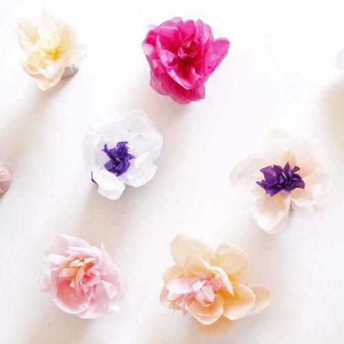 ホワイトデーにも使える!花咲く簡単プチフラワーラッピングの作り方<br />|by pachi pachi pachi キッズパーティー