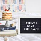 WELCOME TO MY CAKE SMASH