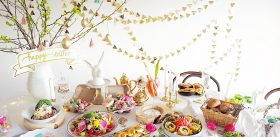 GIRL'S EASTER TEA PARTY