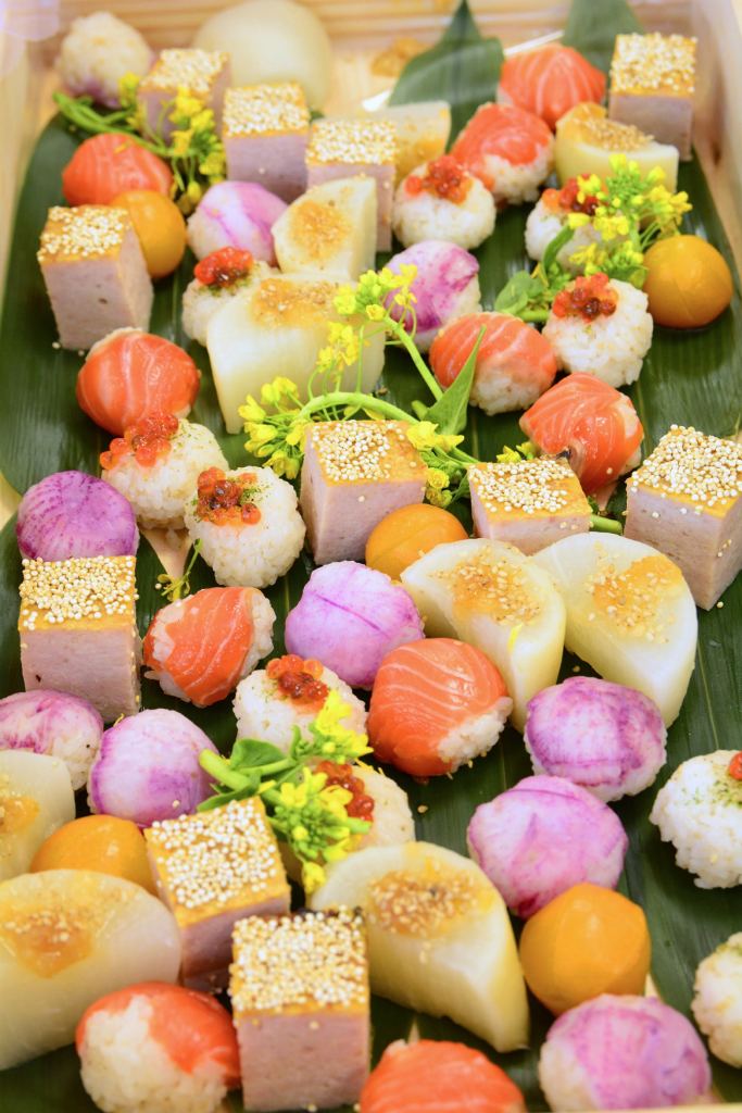 パーティーフードのお寿司
