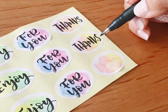 watercolor_brushlettering_sticker