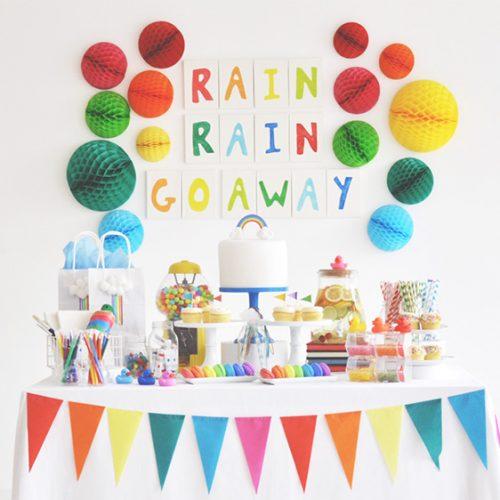 雨の日こそパーティーしよう!「梅雨パ」を盛り上げる3つのポイント<br>|by Flying Tiger Copenhagen