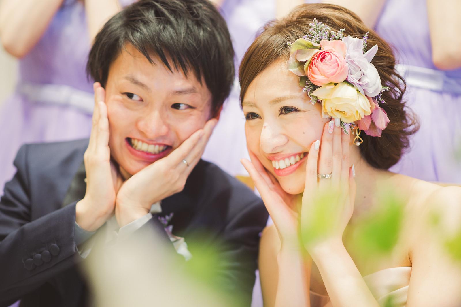 結婚式_フローラルウェディング_ヘアスタイル
