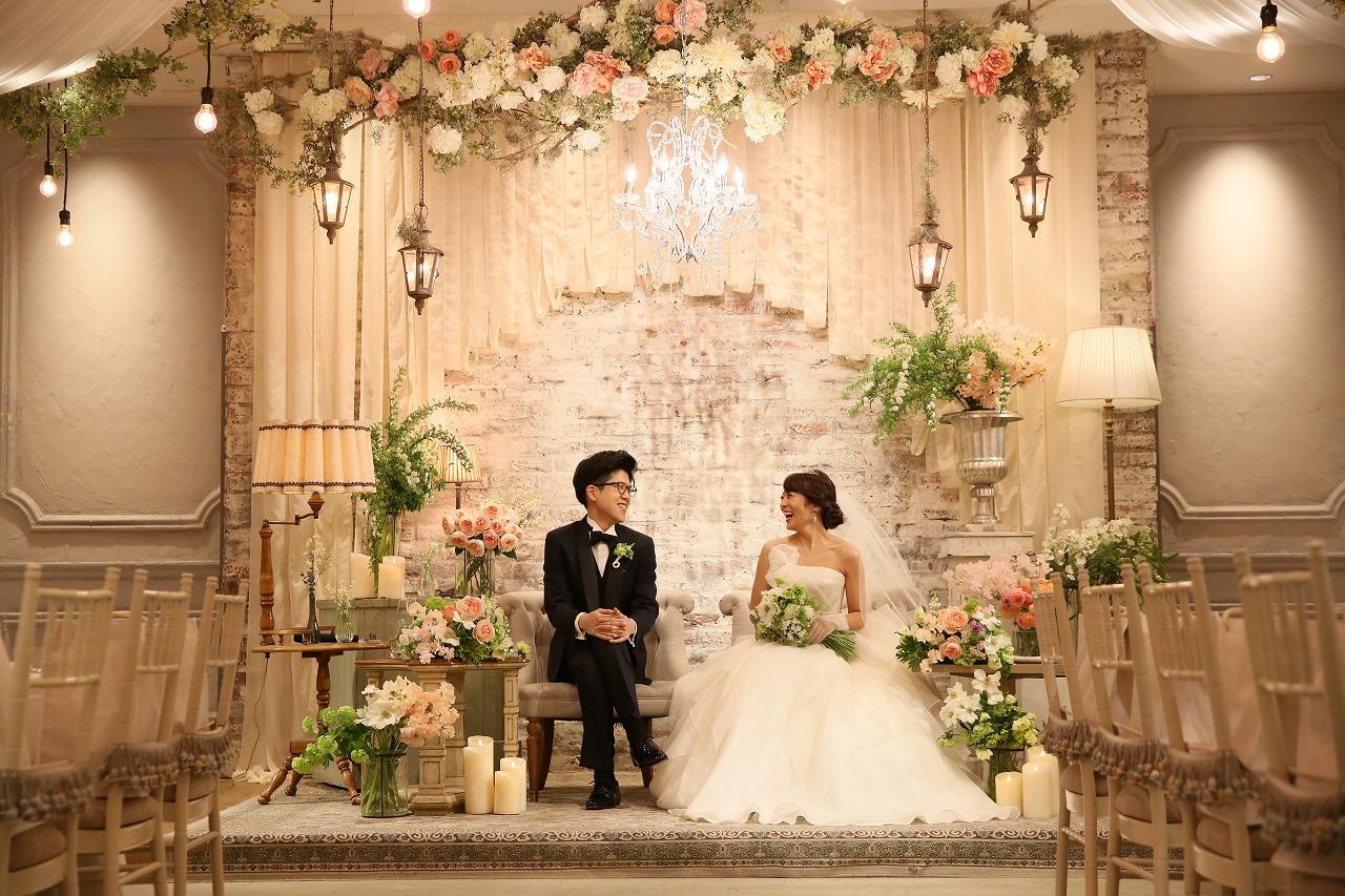 結婚式_会場装飾_高砂