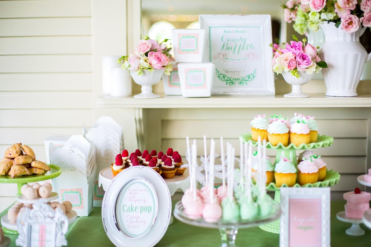 wedding_hawaii_pink_キャンディービュッフェ