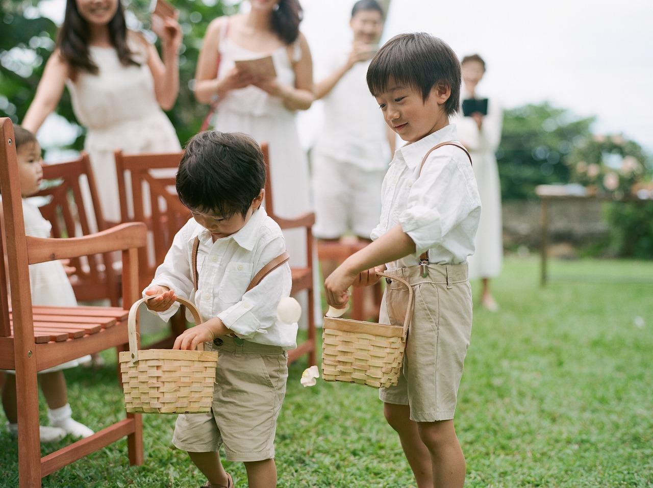 結婚式_ハワイ_リングボーイ