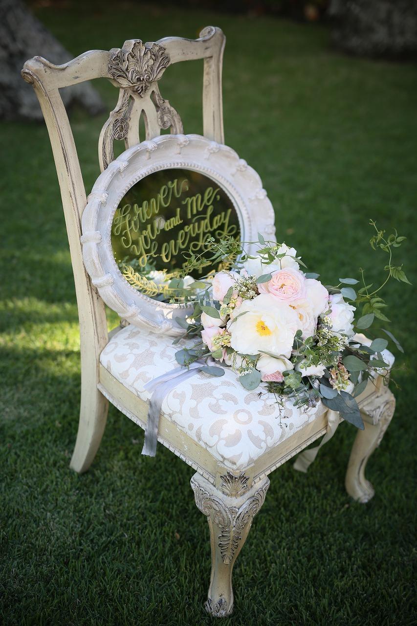 結婚式_ガーデンウェディング_ウェルカムボード