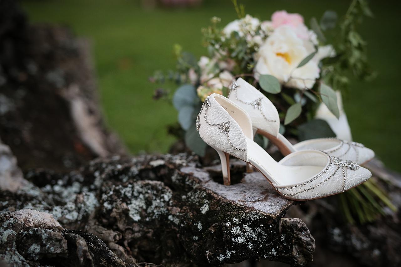 結婚式_ウェディングシューズ_ガーデンウェディング