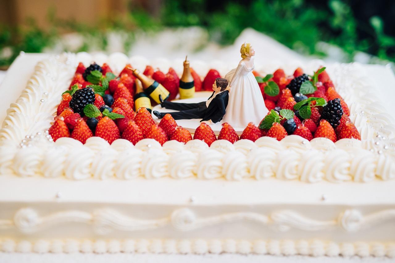 結婚式_ウェディングケーキ_ケーキトッパー