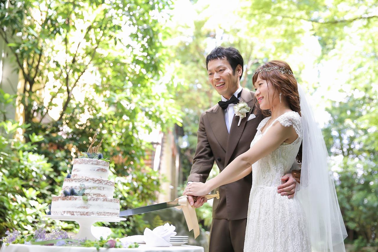 結婚式_軽井沢_ウェディングケーキ