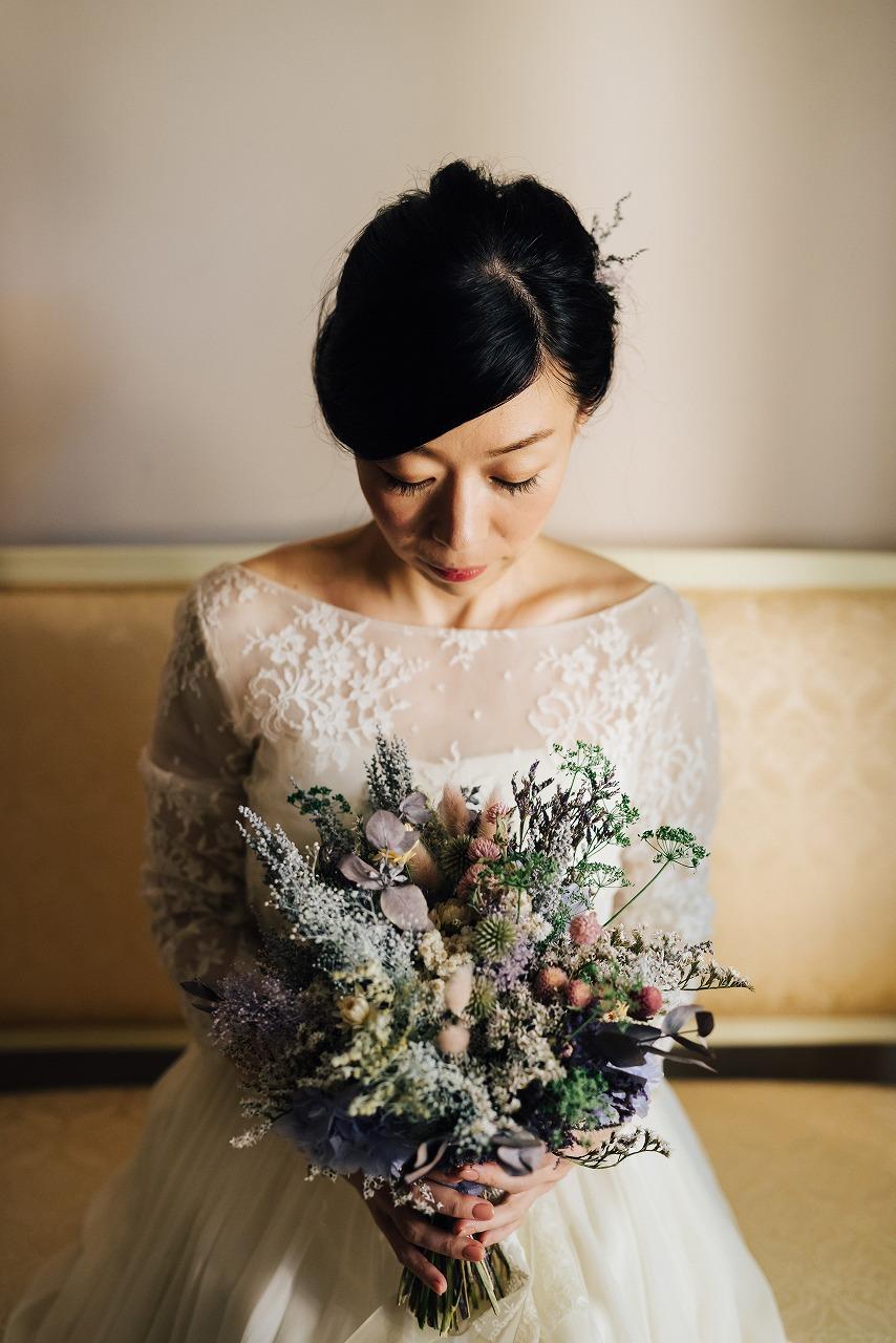 結婚式_花嫁_ブーケ