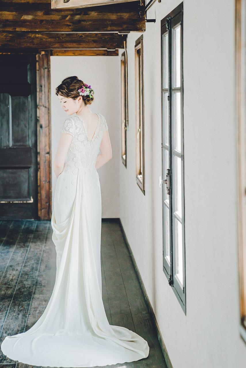 結婚式_ドレス_髪型