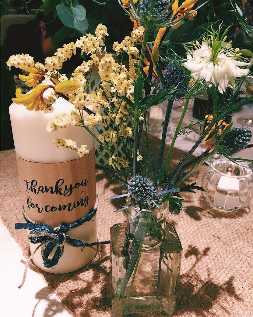 結婚式_キャンドル