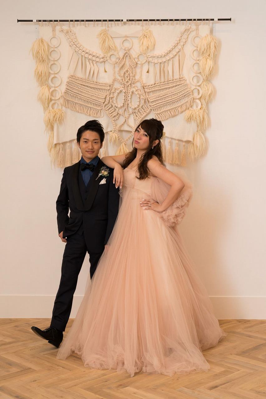 結婚式_カラードレス