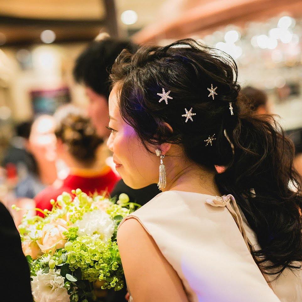 結婚式_髪型_新婦