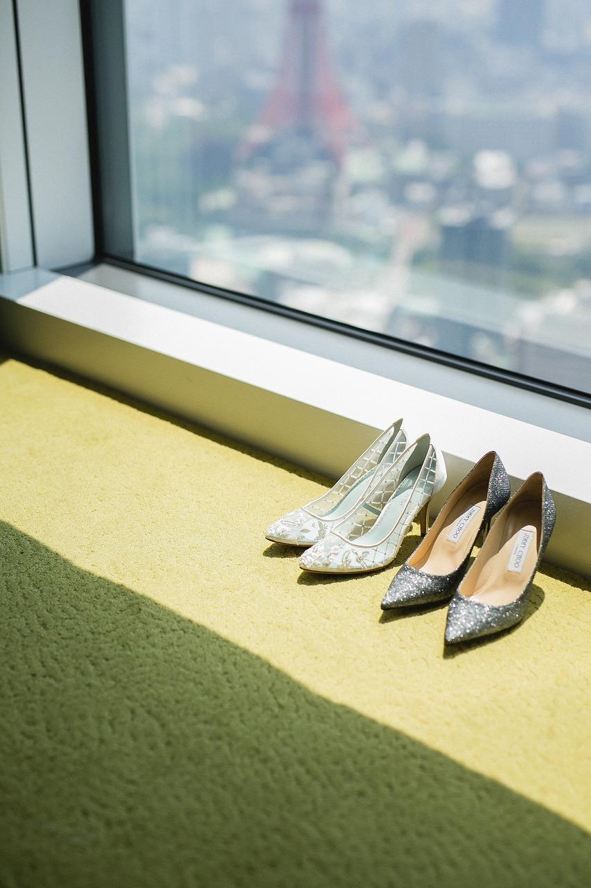 結婚式_靴