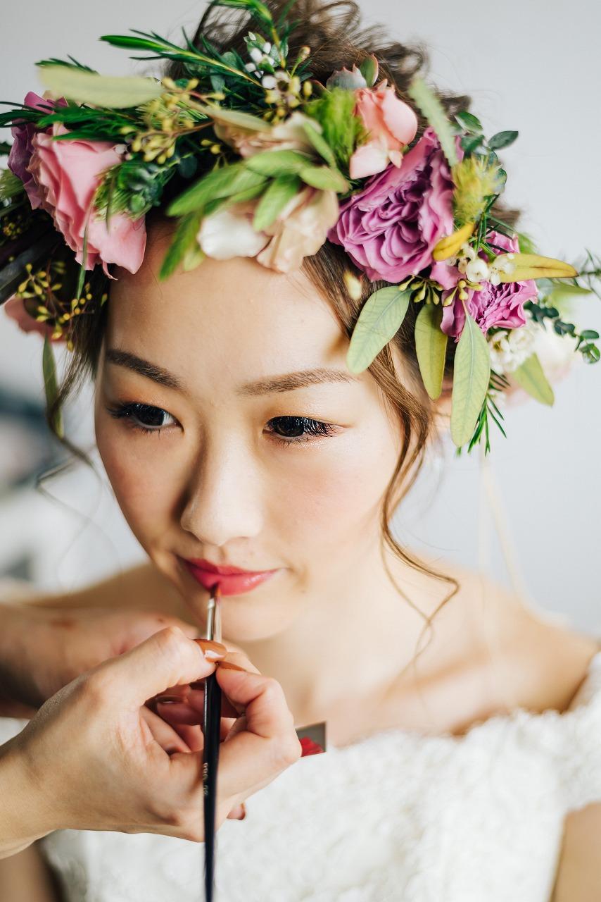 結婚式_新婦_髪型