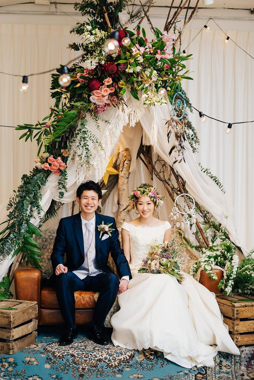 結婚式_高砂_ティピー