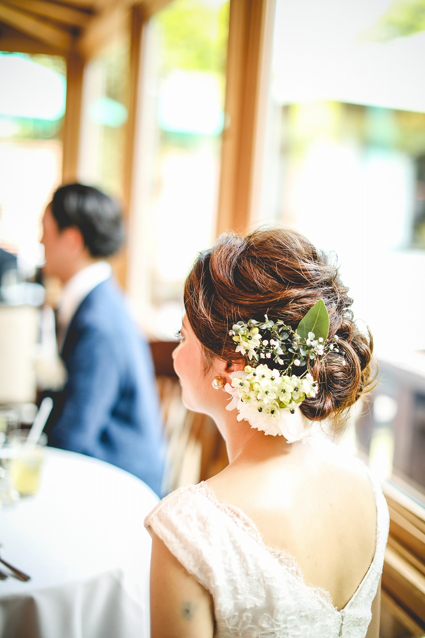 結婚式_おしゃれ_髪型