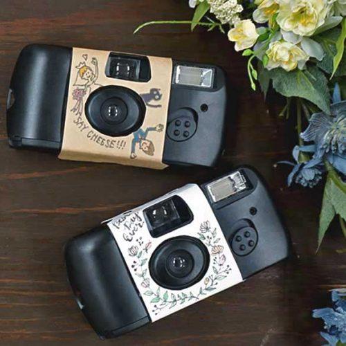 結婚式に!切って貼るだけのインスタントカメラカバーに新デザイン登場<br>|by ARCH DAYS編集部