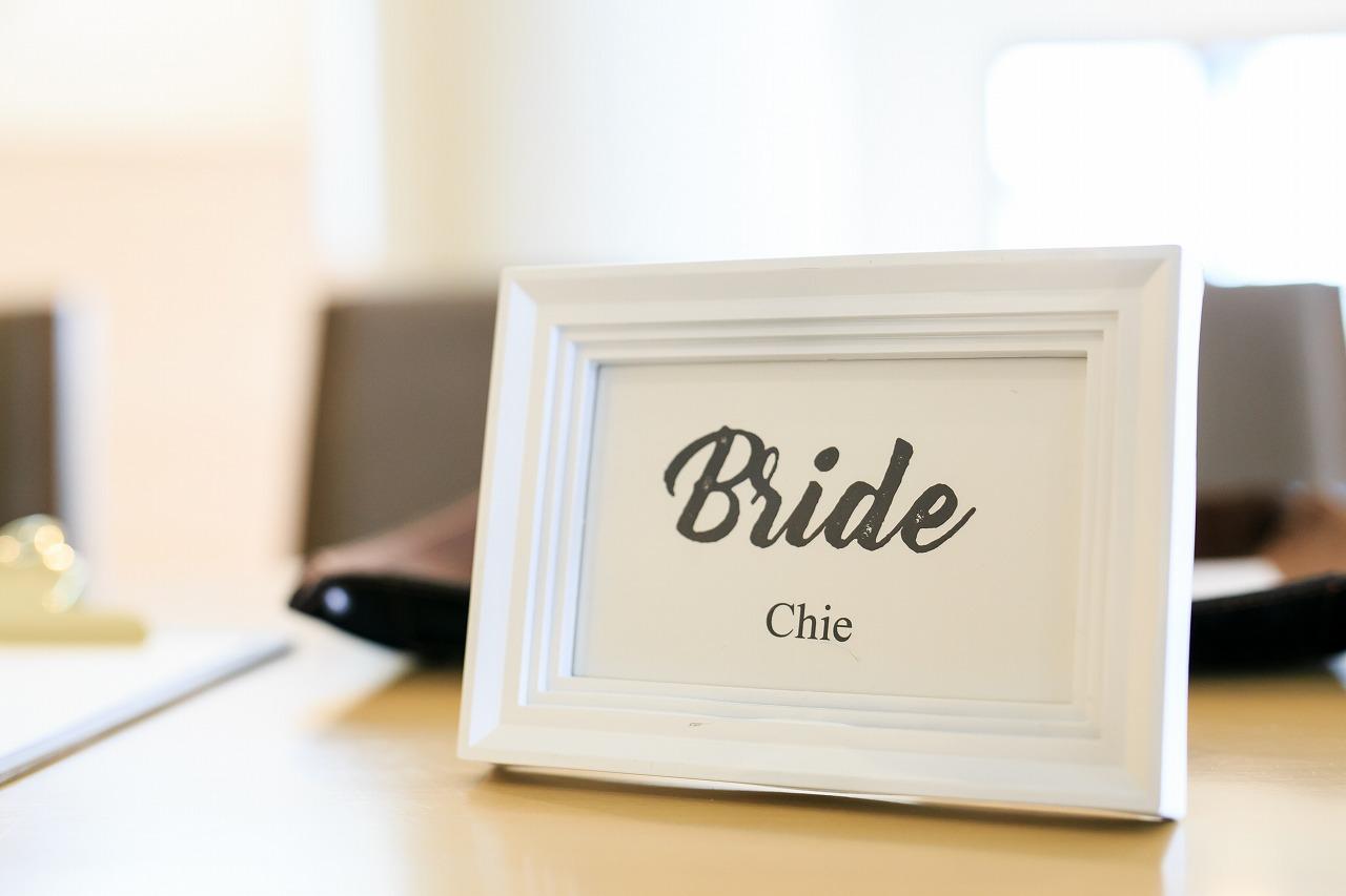 結婚式_受付サイン