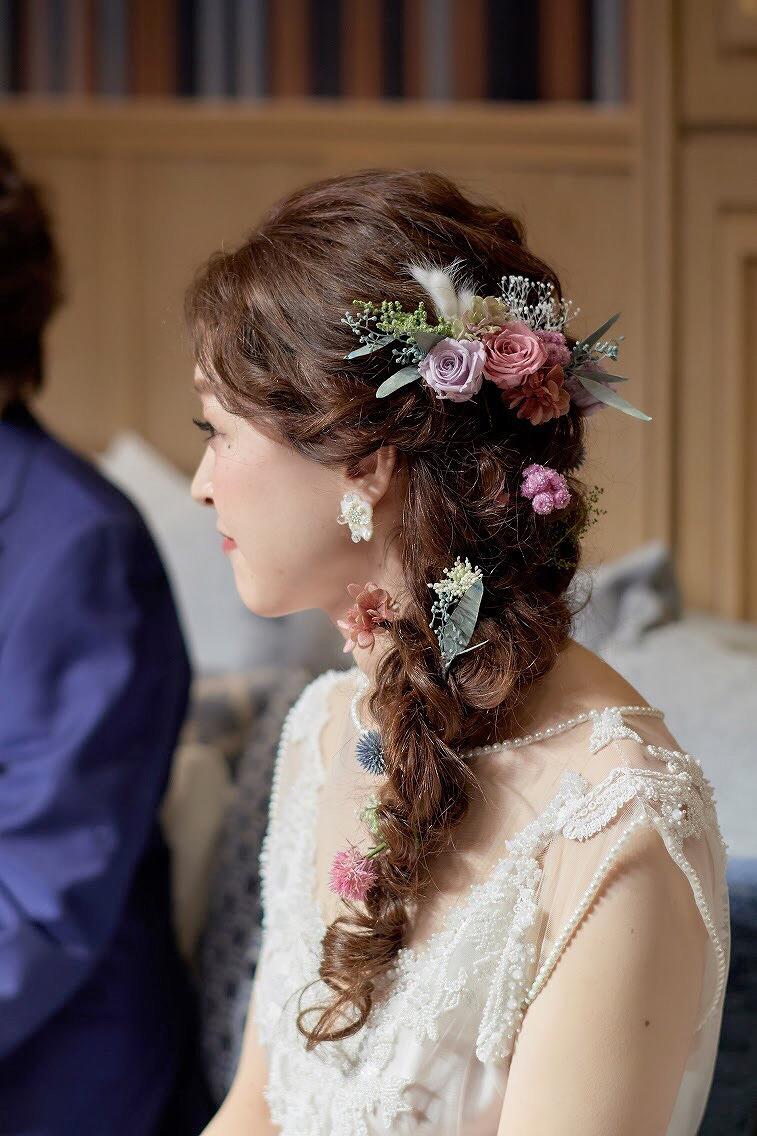 結婚式_髪型_かわいい