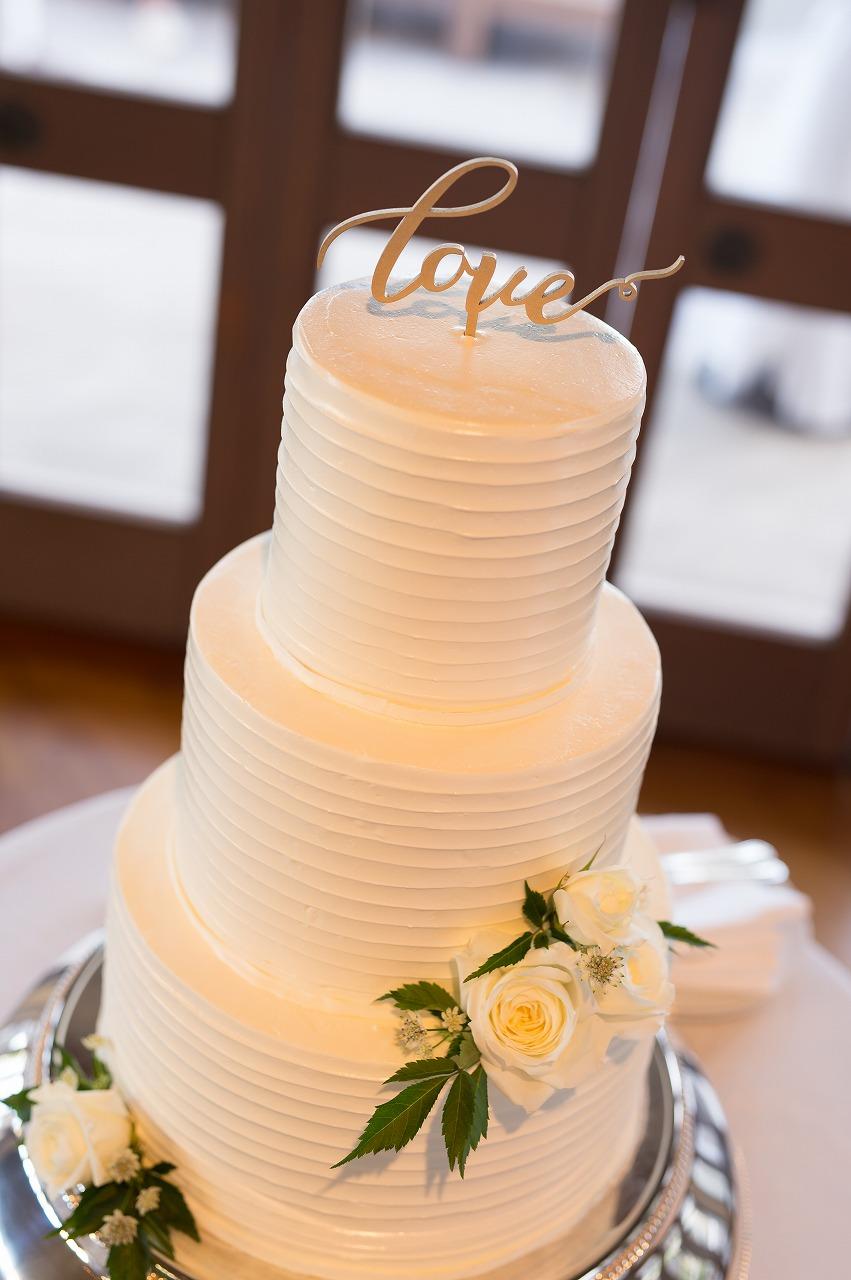 ハワイ_結婚式_ウェディングケーキ