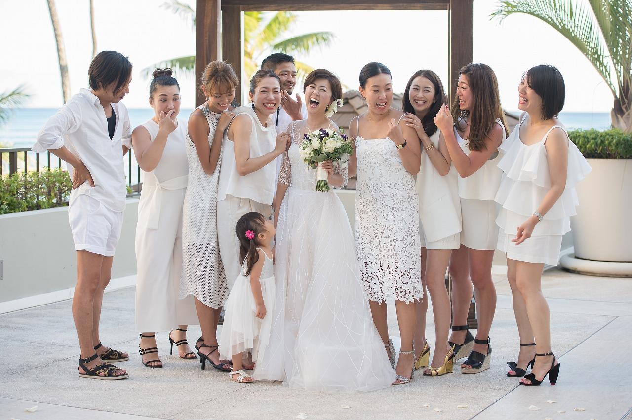 ハワイ_結婚式_ブライズメイド