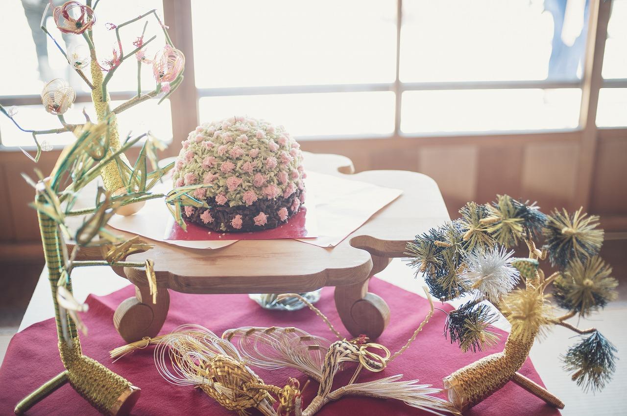 結婚式_ウェディングケーキ_和婚