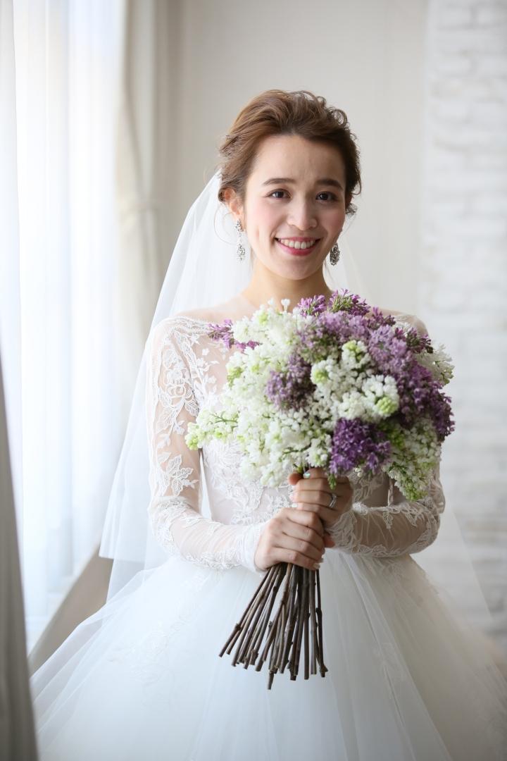 結婚式_TRUNK_フローラルウェディング_かわいい_ブーケ