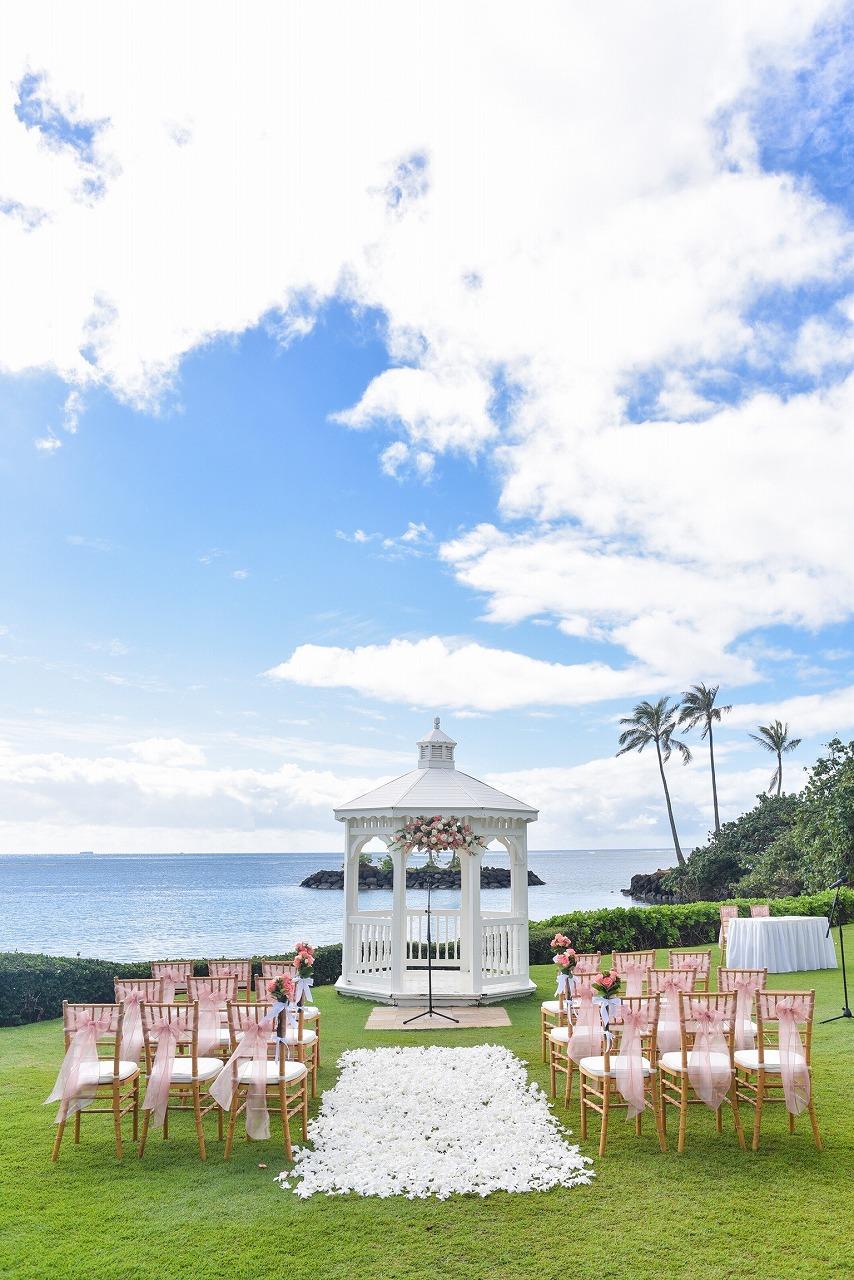 結婚式_ハワイ_ガーデン