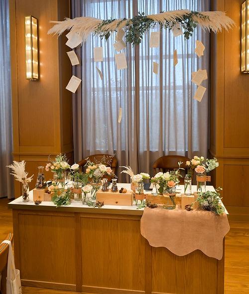 結婚式_高砂_かわいい