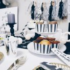 BLACK +WHITE BIRTHDAY