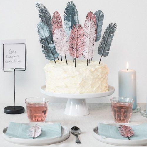 【動画】誕生日や結婚式で大活躍!ケーキトッパーの簡単作り方<br>|by Søstrene Grene