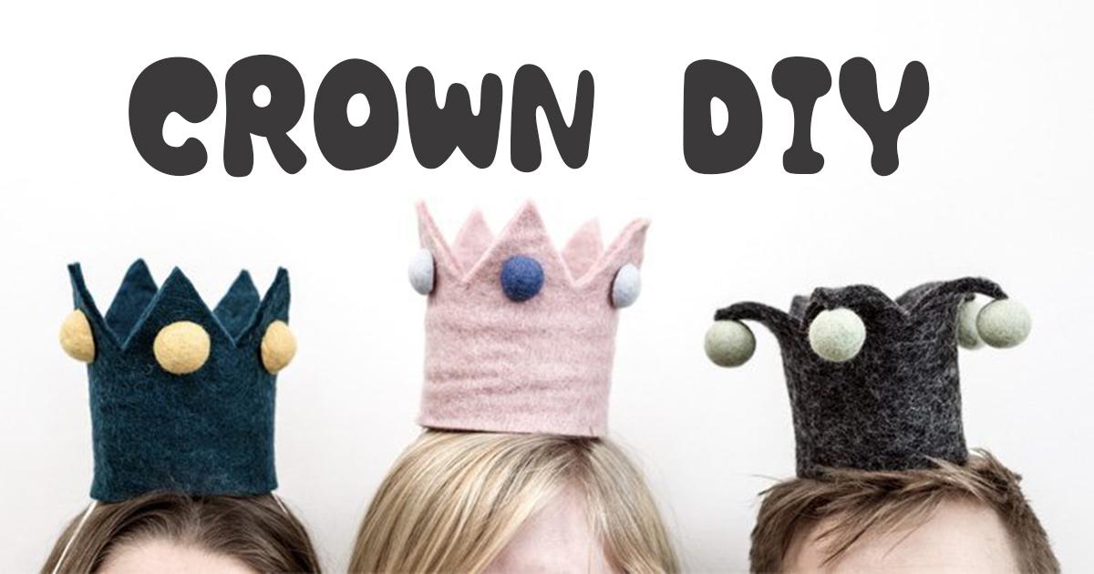赤ちゃんの王冠を手作り!1歳誕生日やハーフバースデーのお祝いに【無料テンプレート】