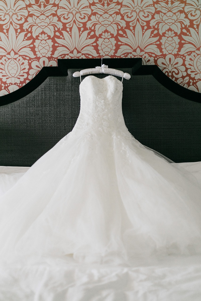 結婚式_ドレス_ハワイ