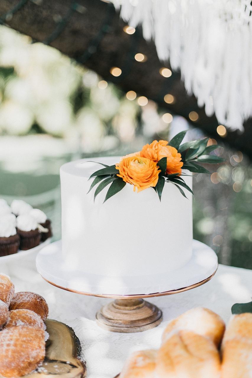 結婚式_ハワイ_ケーキ