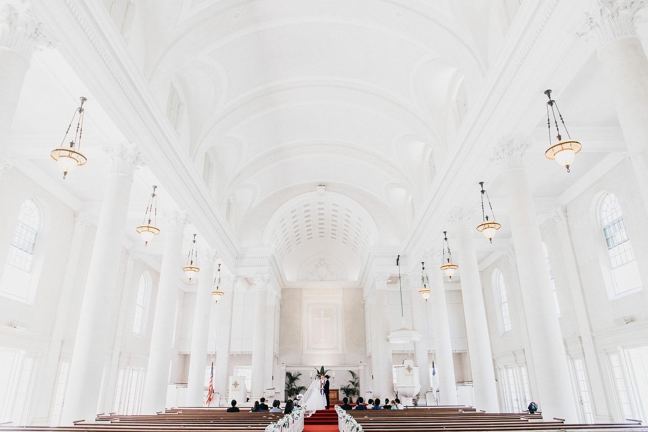 結婚式_教会_ハワイ