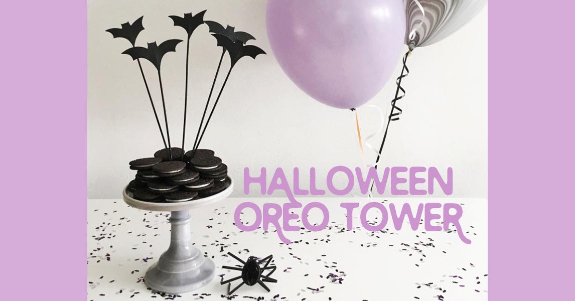 ハロウィンパーティーにぴったり!手軽で簡単オレオタワーの作り方<br/>|by Glitter Party Styling