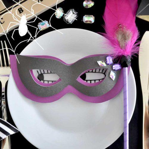ハロウィンの仮装や装飾に!簡単マスカレードマスクの作り方【無料テンプレート】<br>|by ARCH DAYS編集部