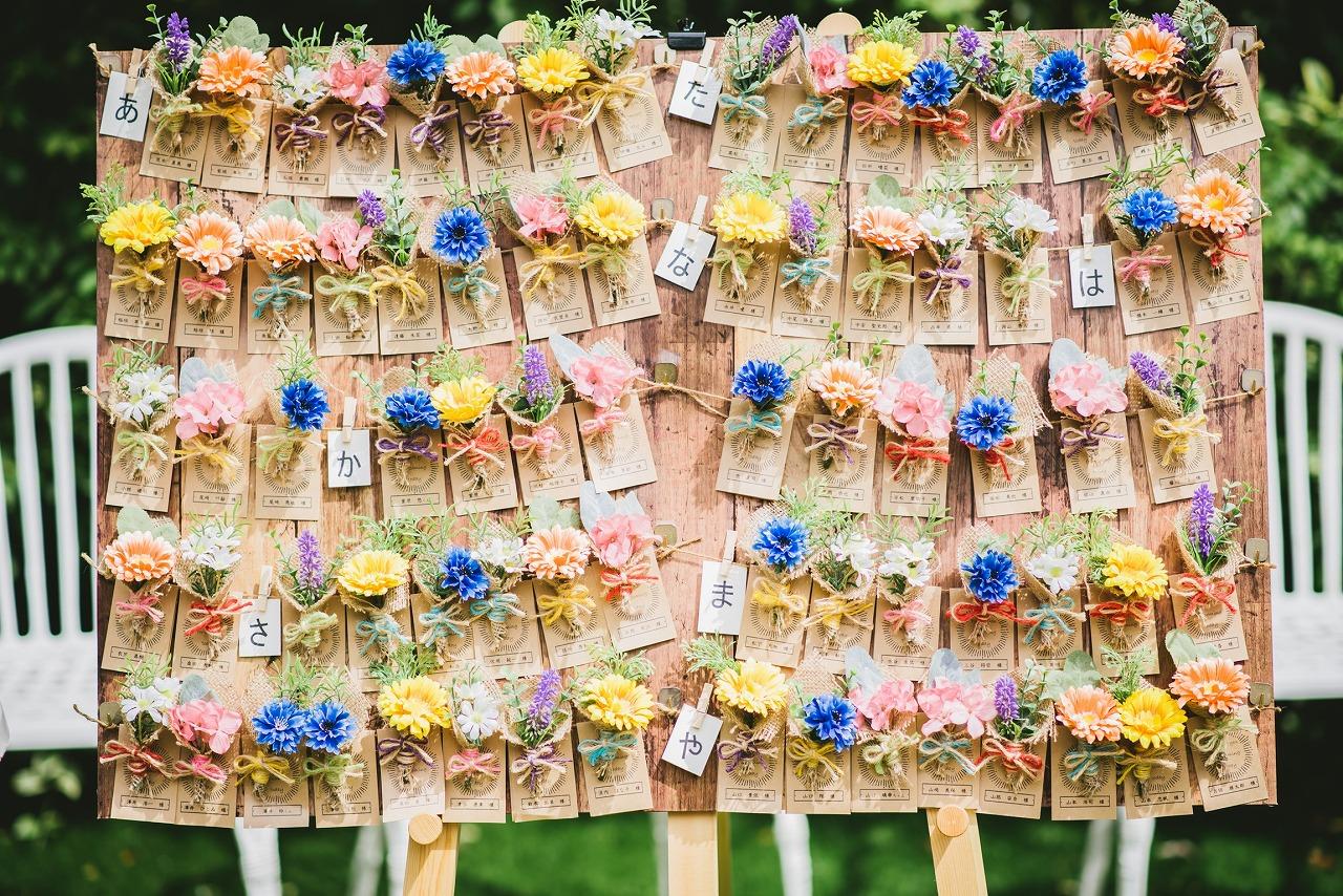 結婚式_エスコートカード_手作り