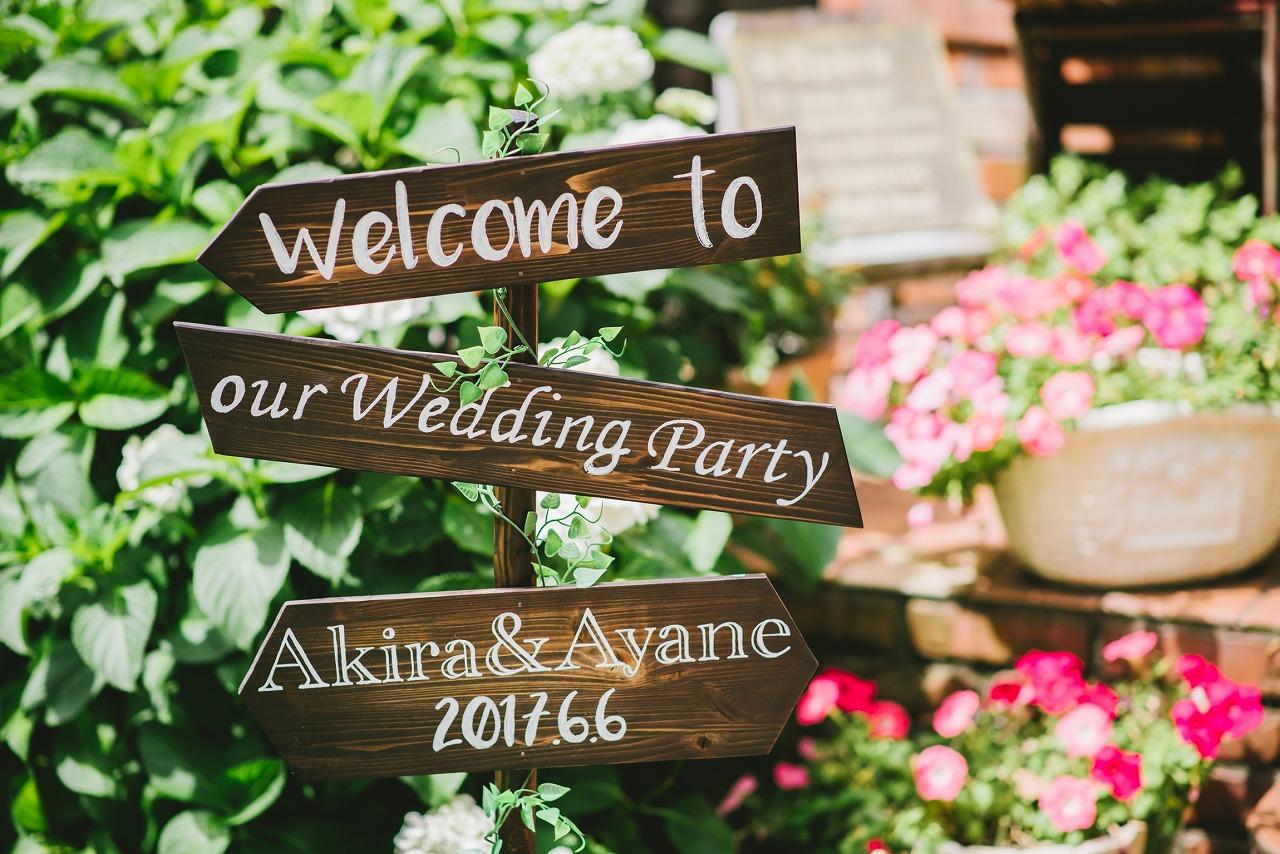 結婚式_ウェディングサイン_作り方