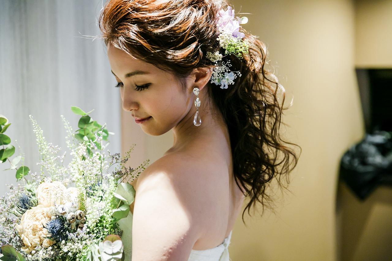 結婚式_髪型_花嫁