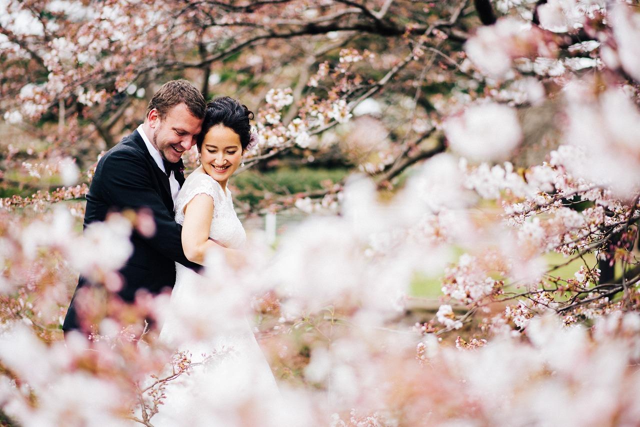 結婚式_ガーデンウェディング_国際結婚_
