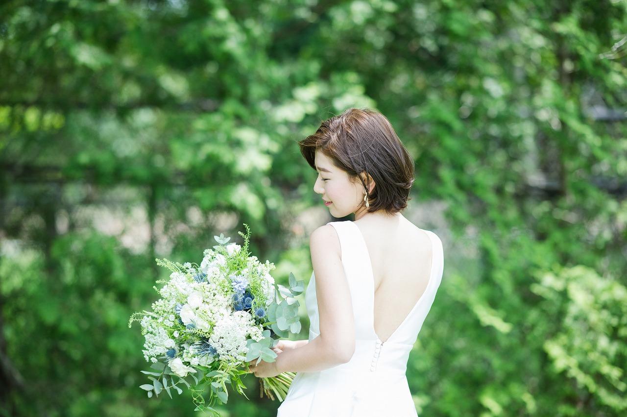 結婚式_ガーデン_ドレス