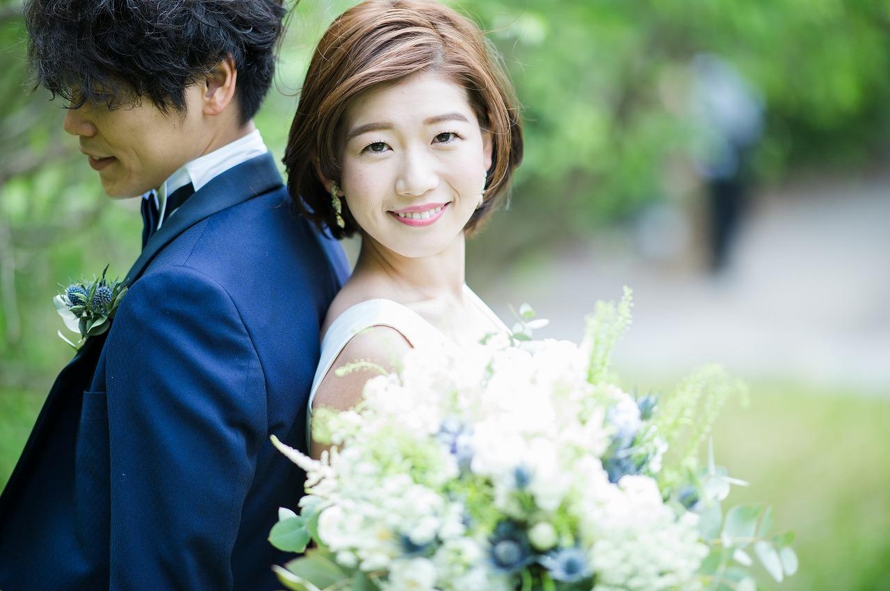 結婚式_ガーデン_ブーケ