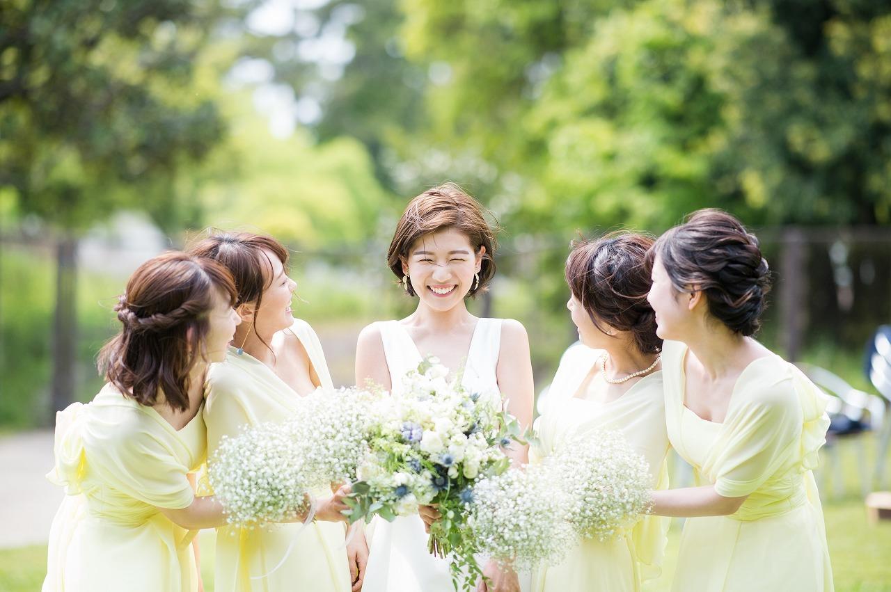 結婚式_ガーデン_ブライズメイド